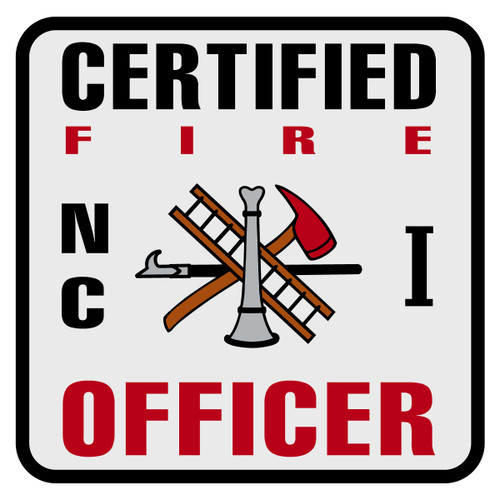 North Carolina Certified Fire Officer Level 1 Decal