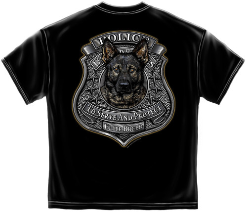 Elite Breed Police K9 T-Shirt (THD202)
