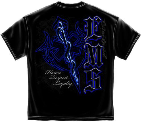 EMS Honor Respect Loyalty T-Shirt (THD302)
