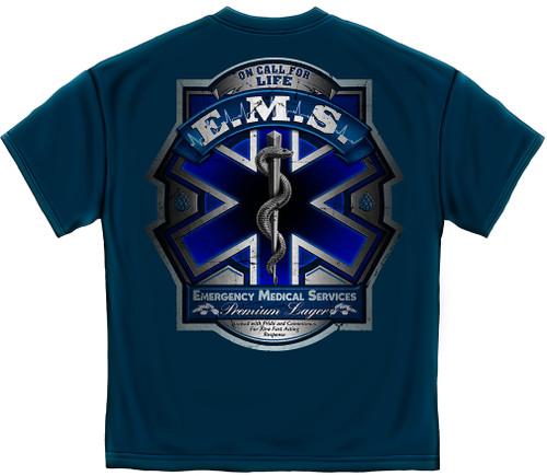 EMS On Call For Life T-Shirt (FF2098)