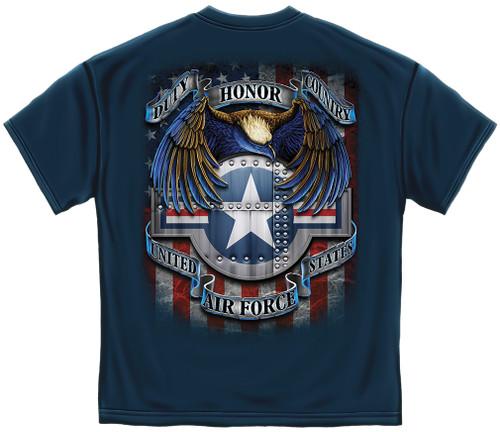 Air Force Star Shield T-Shirt (MM143)