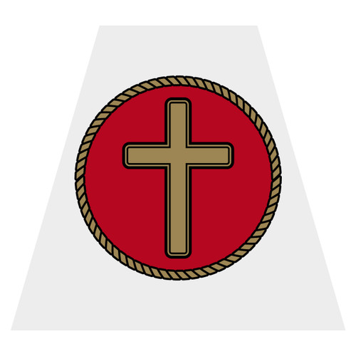Cross Helmet Tetra Decal