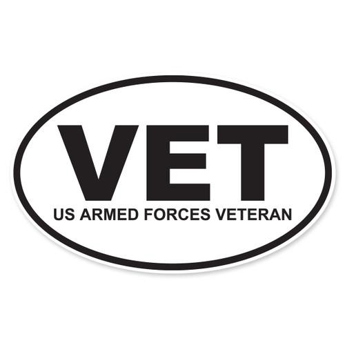 VET (US Armed Forces Veteran) Decal