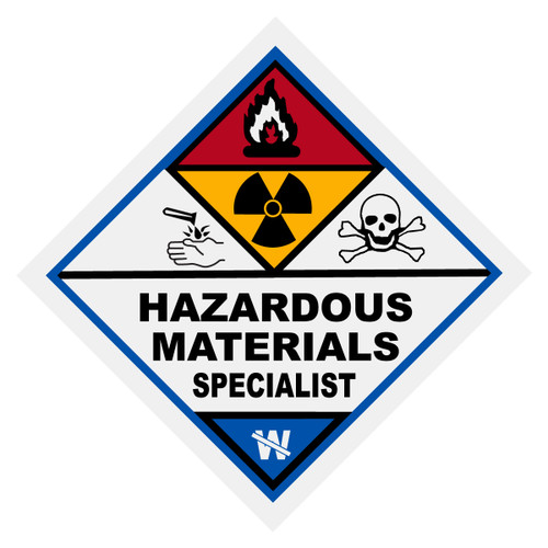 Hazardous Materials Specialist Decal