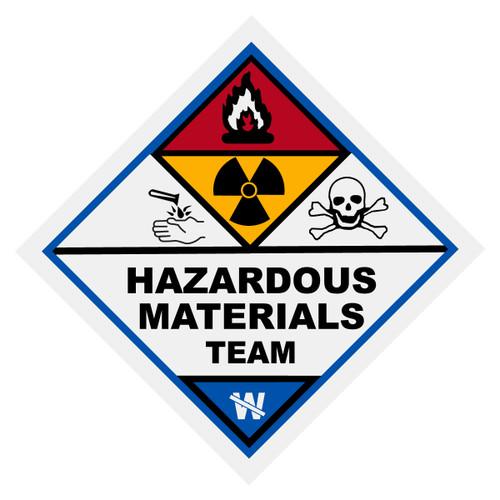 Hazardous Materials Team Decal