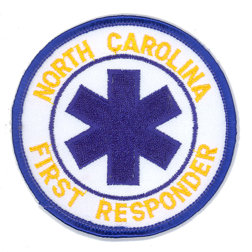 North Carolina First Responder Patch