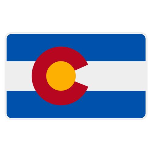 Colorado Flag Decal