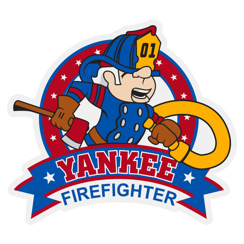 Yankee Firefighter Decal