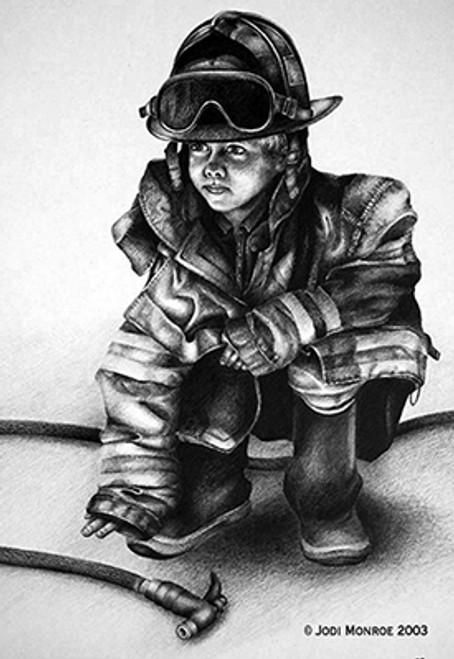 Little Hero Print