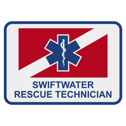 Certified Swiftwater Rescue Technician Decal