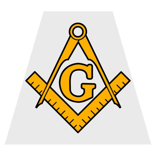 Masonic Helmet Tetra Decal