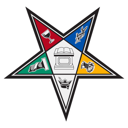 Order of Eastern Star Decal