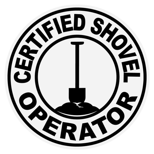 Round Certified Shovel Operator