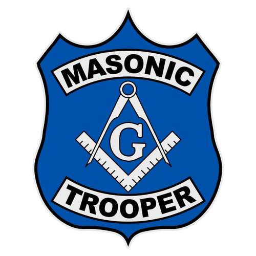 Masonic Trooper Decal