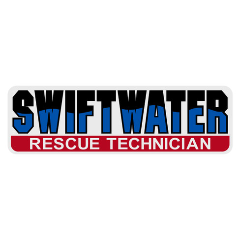 Swiftwater Rescue Technician Decal The Emergency Mall