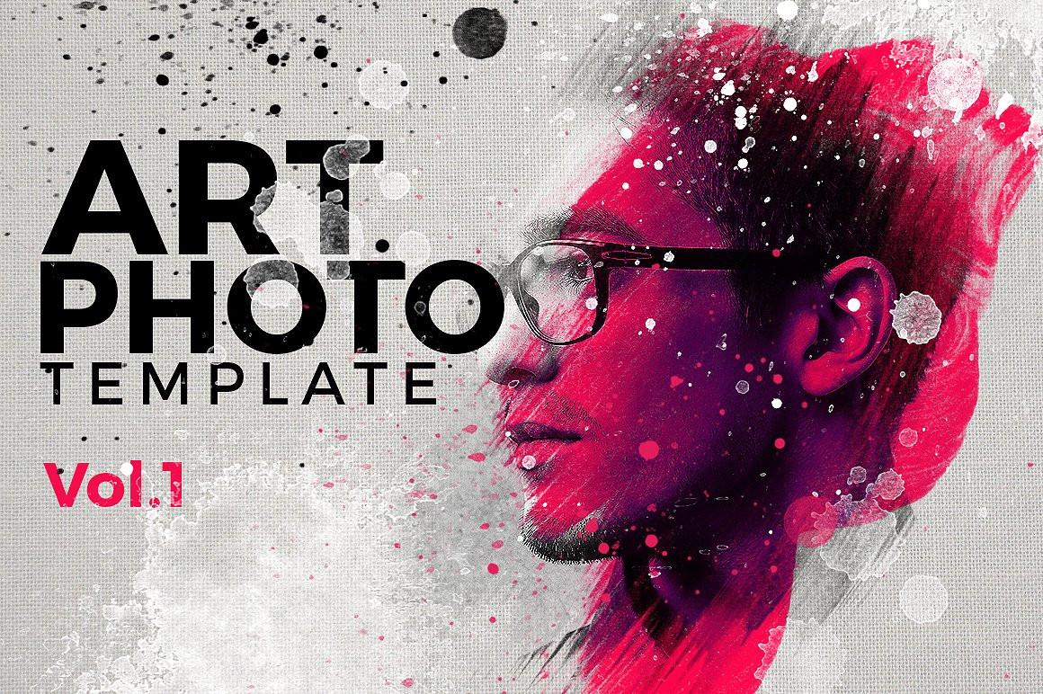 Art Photo Template/Mock-up V.1