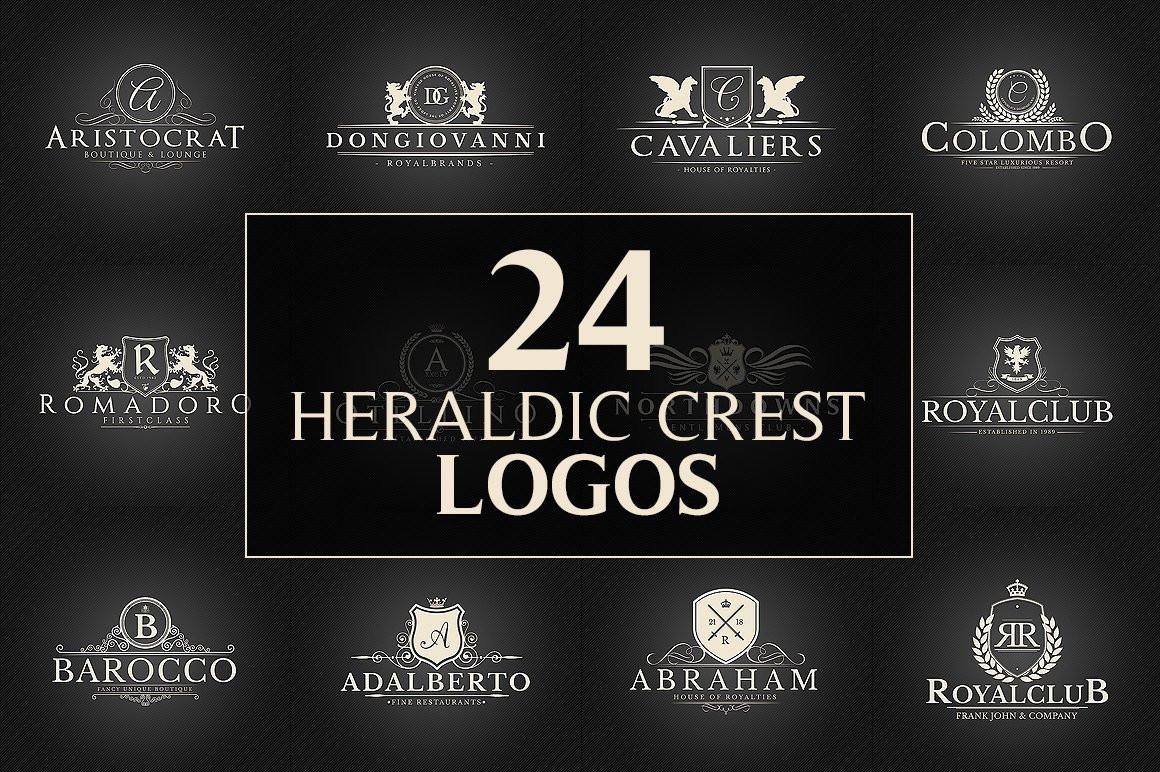 24 Crest Logos Bundle Vol.2