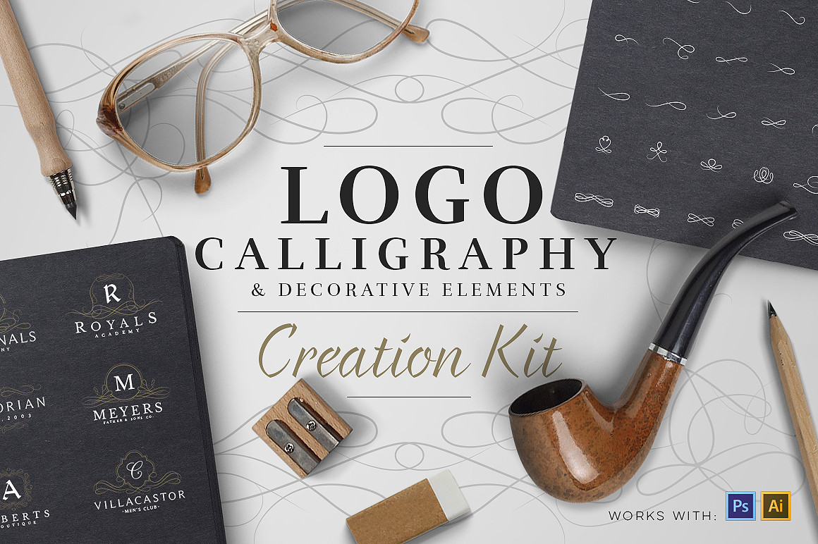 Logo Creation Kit - Calligraphy
