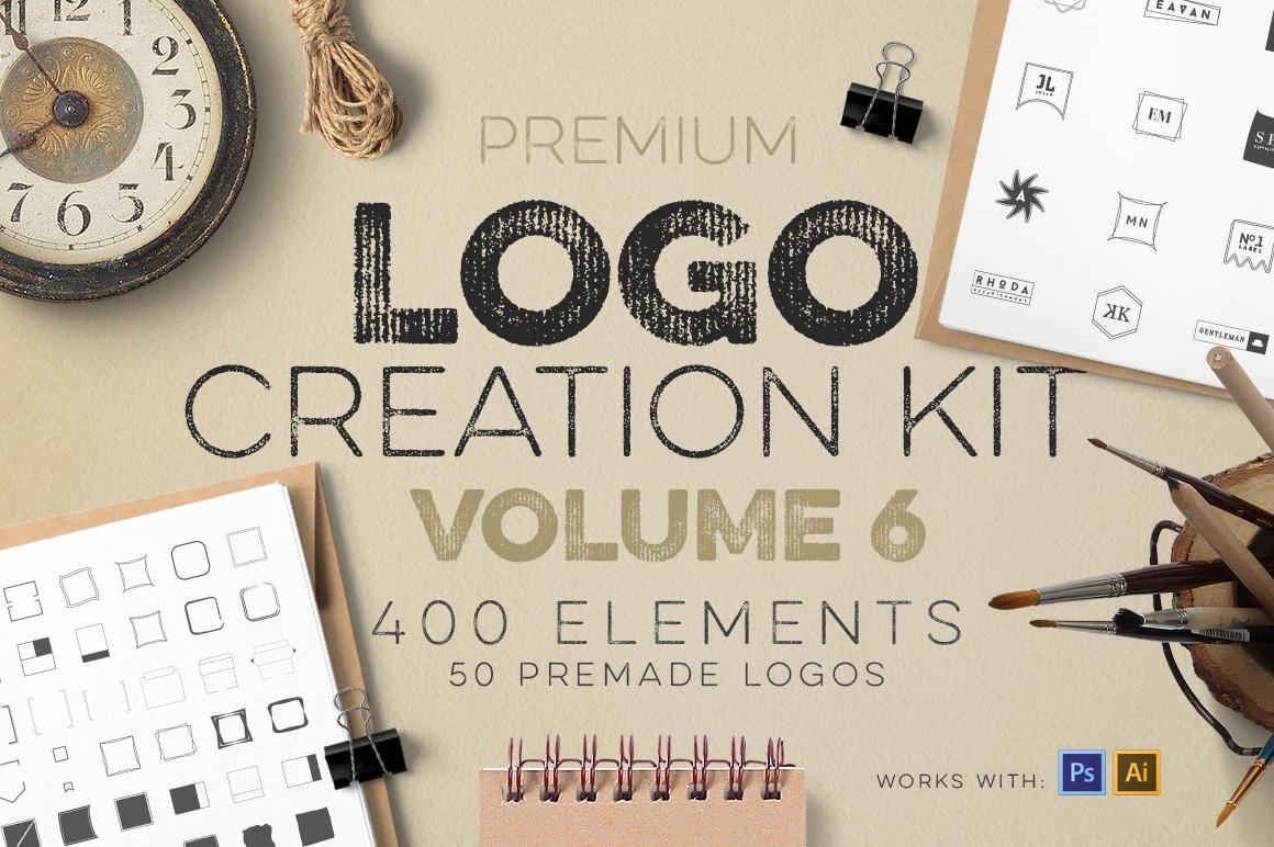 Logo Creation Kit Vol.6