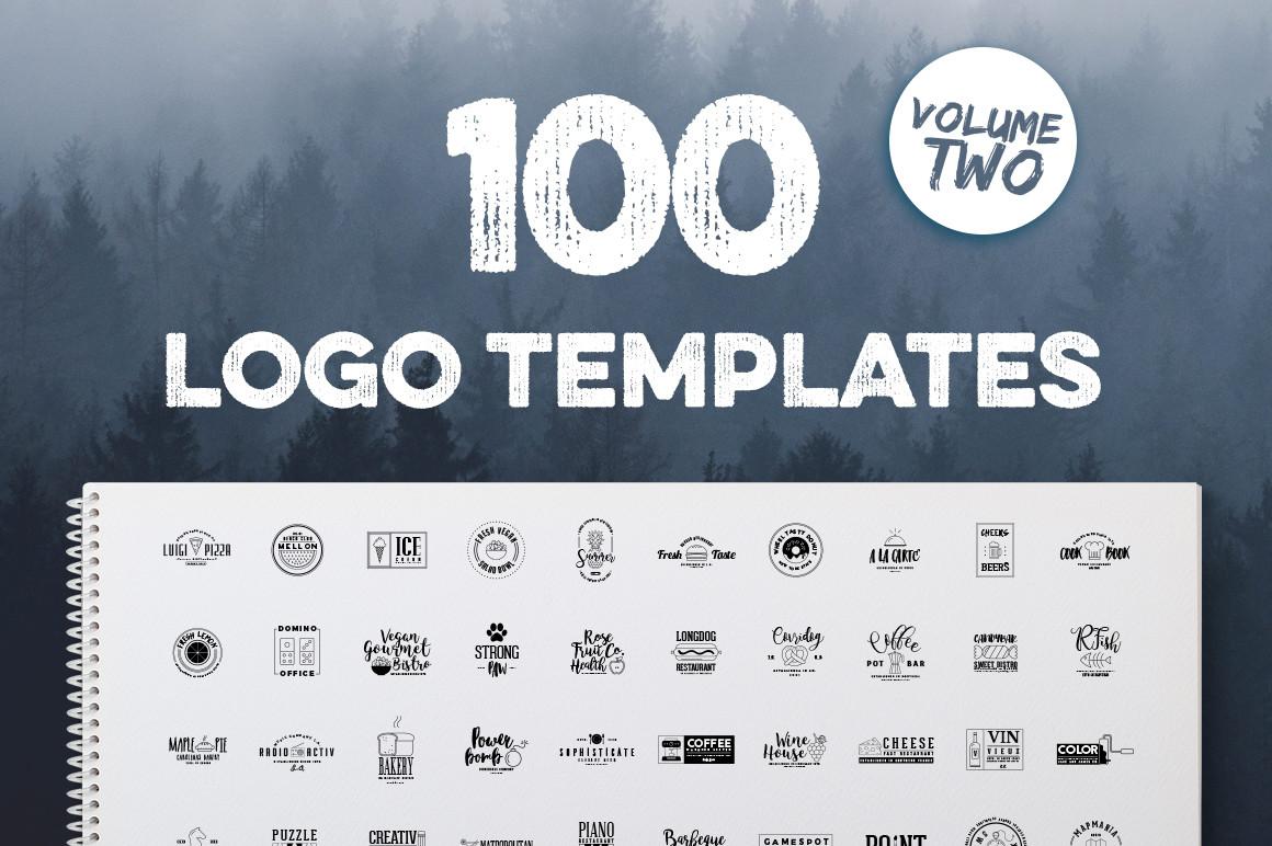 100 Fresh Logo Templates Vol.2