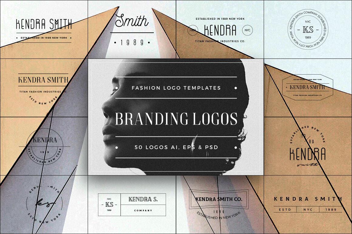 50 Branding Fashion Minimal Logos