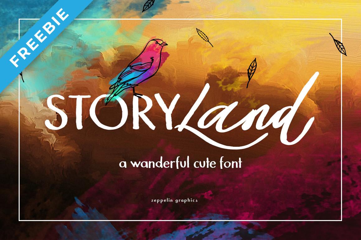 Storyland Font