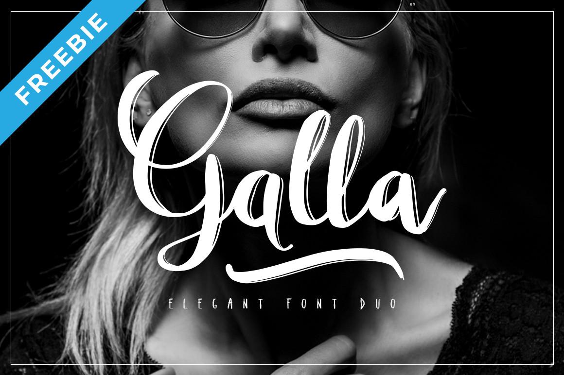 Galla Font Duo