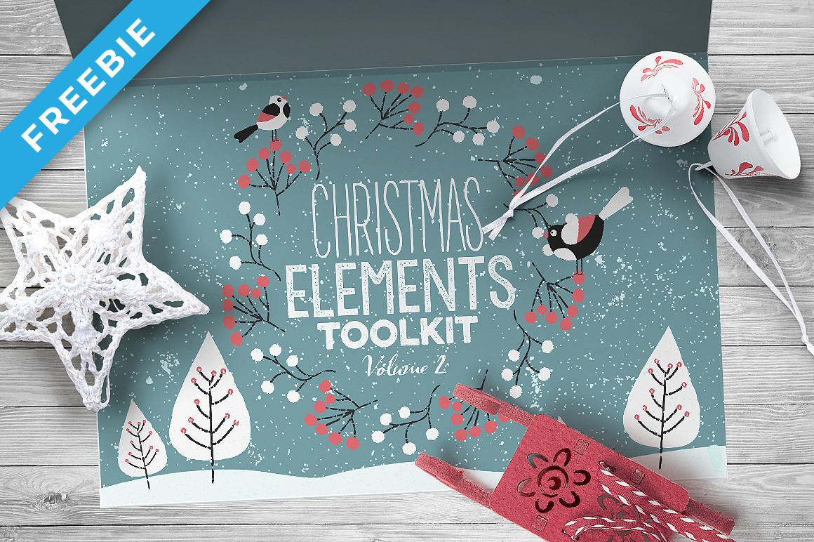 Christmas Elements Toolkit Vol.2