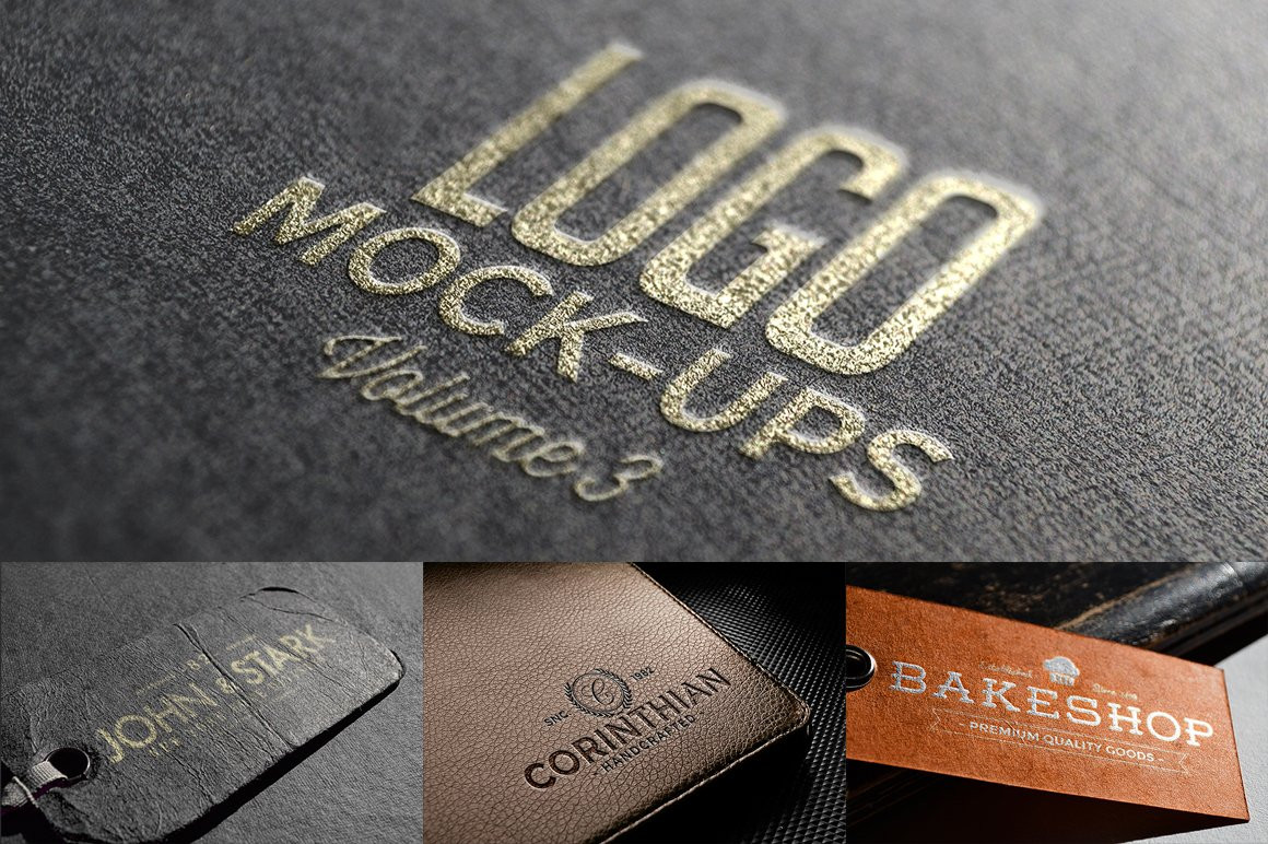 Logo Mock-ups Vol.3