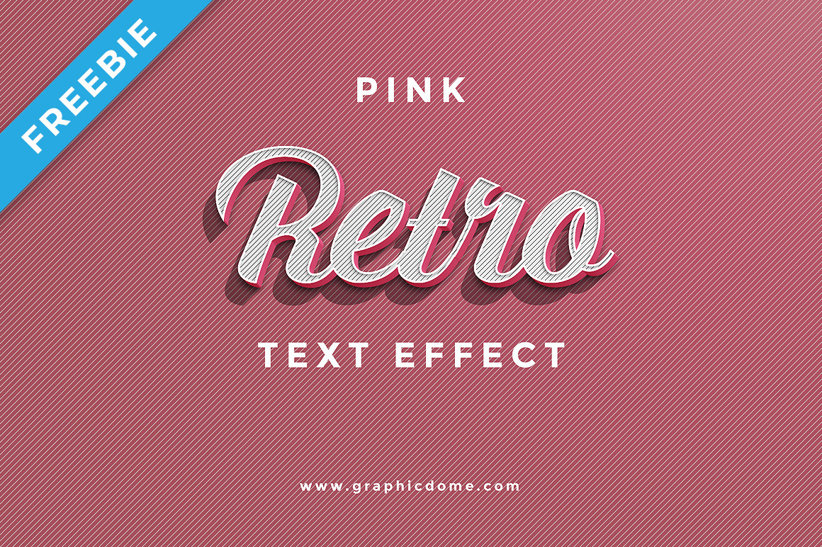 Retro Text Effect