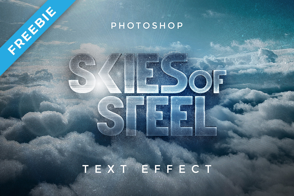 Sky Cinematic 3D Text Effect