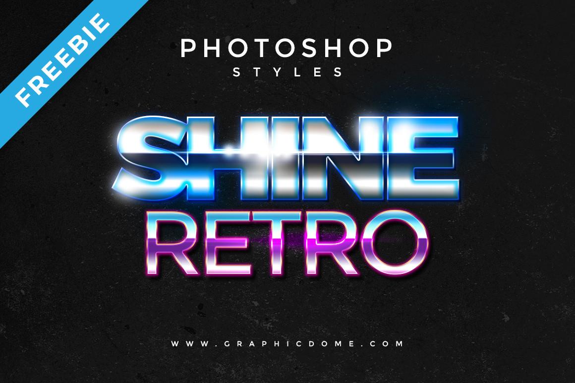 80s Retro Style for Photoshop