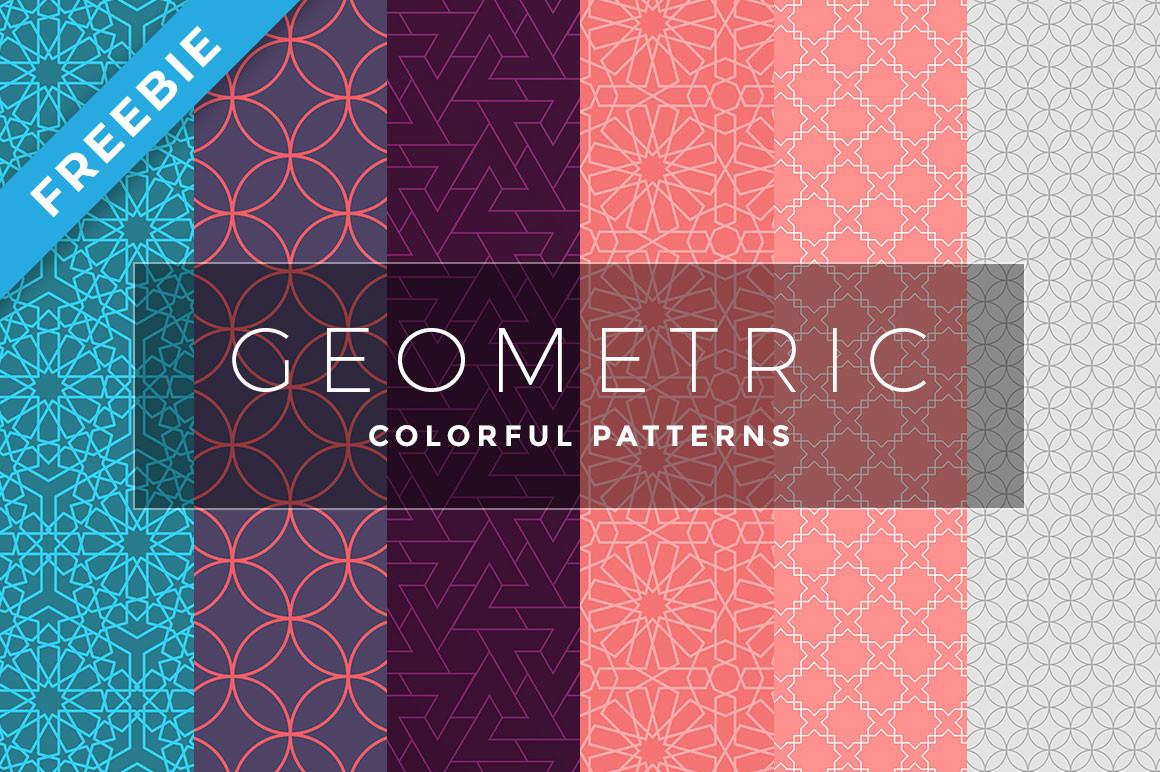 Geometric Colorful Patterns