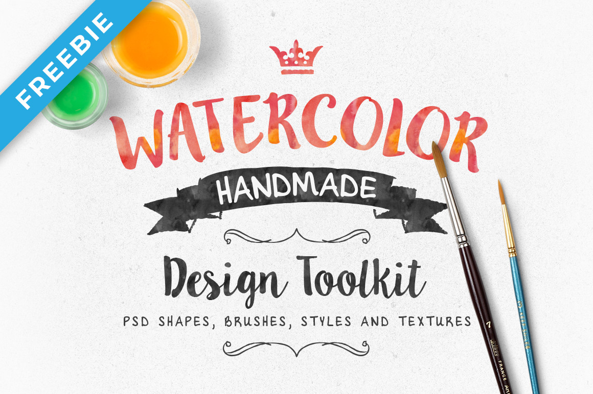 Watercolor Design Toolkit