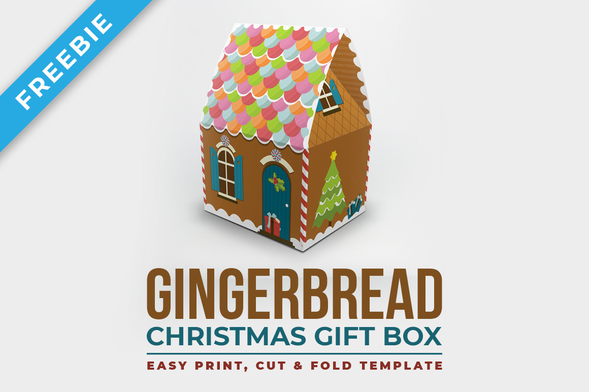 Gingerbread Packaging Gift Box
