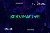 20 Modern and Futuristic Decorative Fonts