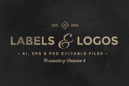 Vintage Labels & Logos Vol.5