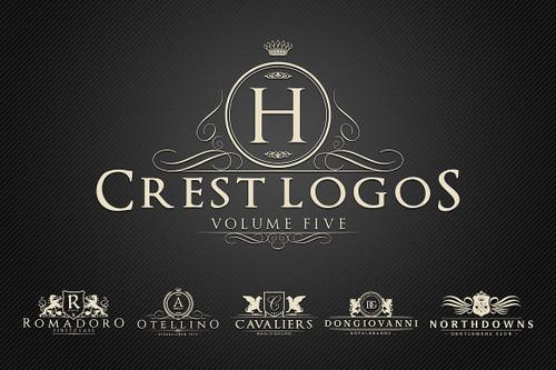 Heraldic Crest Logos Vol.5