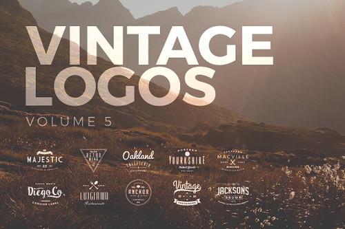 Vintage Logos and Badges Set 5