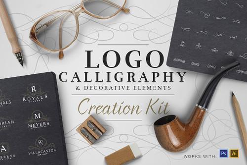 Logo Creation Kit - Calligraphy