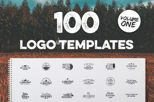 100 Fresh Logo Templates Vol.1