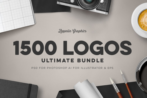 1500 Logos Bundle Collection