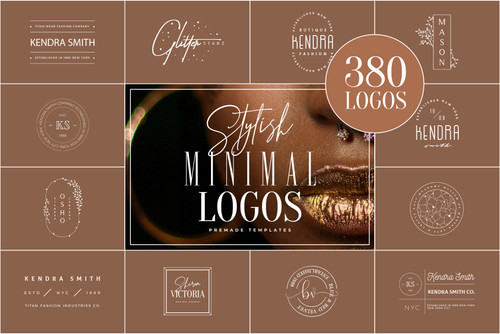 380 Stylish & Minimal Logos