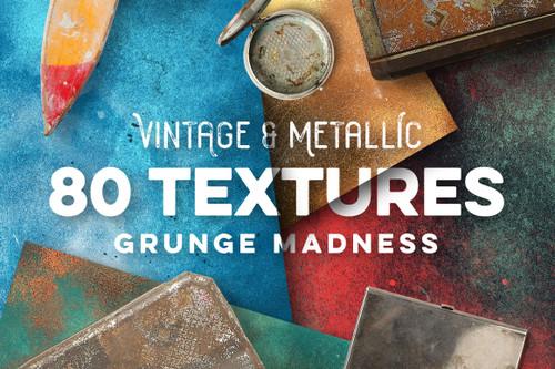 80 Vintage & Metallic Textures