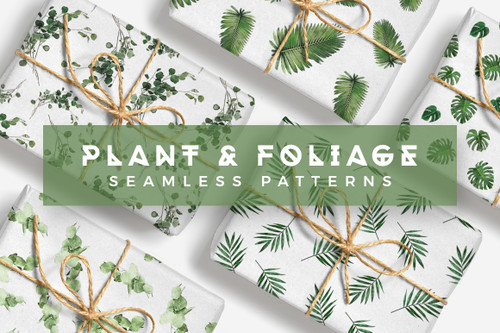 Plants & Foliage Patterns