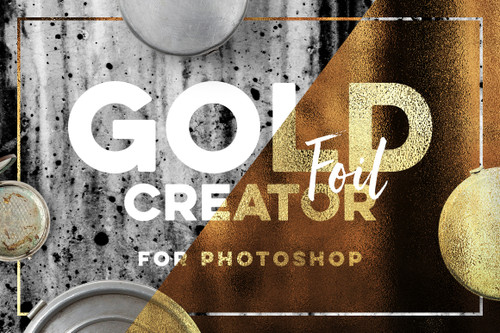 Gold Texture Creator for Photoshop