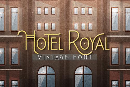 Hotel Royal Vintage Font