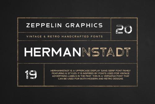 Hermannstadt Font Family