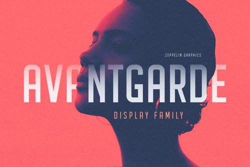 Avantgarde Sans Serif Family