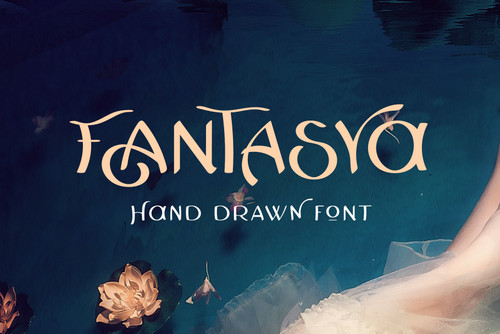 Fantasya Hand Drawn Font